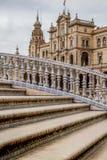 Plaza de Sevilla, palacio España Imagen de archivo