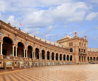 Plaza de Spana   Seville, Spain Royalty Free Stock Photography
