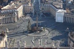 Plaza de St.Peter Imagens de Stock