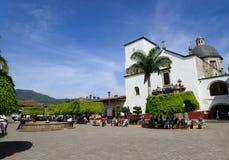 Plaza de Tacambaro Fotos de archivo