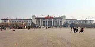 Plaza de Tiananmen de Pekín en China Foto de archivo