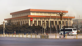 Plaza de Tiananmen de Pekín en China Imagen de archivo