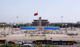Plaza de Tiananmen en Pekín, China Imagenes de archivo
