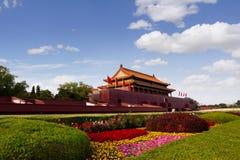 Plaza de Tiananmen, Pek?n, China fotos de archivo libres de regalías