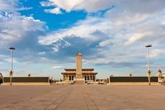 Plaza de Tiananmen, Pekín, China Foto de archivo libre de regalías