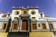 Plaza de toro Stock Photography