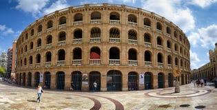Plaza de Toros αρένα ταυρομαχίας στη Βαλένθια, Ισπανία Στοκ φωτογραφία με δικαίωμα ελεύθερης χρήσης