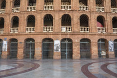 Plaza de Toros αρένα ταυρομαχίας στη Βαλένθια, Ισπανία Στοκ Εικόνες