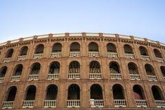 Plaza de Toros αρένα ταυρομαχίας στη Βαλένθια, Ισπανία Στοκ Φωτογραφίες