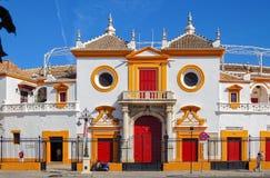 Plaza de Toros de Λα Maestranza - Σεβίλη Στοκ Φωτογραφία
