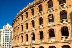 Plaza de Toros, μια αρένα ταυρομαχίας στη Βαλένθια, Ισπανία Στοκ φωτογραφία με δικαίωμα ελεύθερης χρήσης
