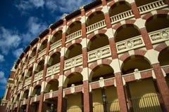Plaza de toros σε Σαραγόσα, Ισπανία Στοκ φωτογραφίες με δικαίωμα ελεύθερης χρήσης