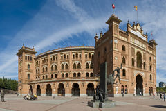 Plaza de toros. De Las Ventas bullfighting ring in Madrid, Spain Royalty Free Stock Photography
