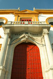 Plaza de Toros - anel de Bull em Sevilha Fotos de Stock