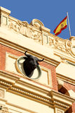 Plaza de toros (bullring) in Zaragoza Stock Photos
