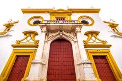 Plaza de Toros de Λα Maestranza Στοκ Φωτογραφίες