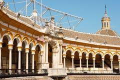 Plaza de toros de la Real Maestranza in Seville royalty free stock photos