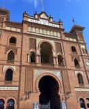 Plaza de Toros de Las Ventas,马德里,西班牙 免版税库存图片