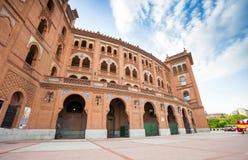 Plaza de Toros de Las Ventas μια ημέρα άνοιξη στη Μαδρίτη Στοκ Φωτογραφίες