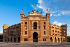 Plaza de toros de Las Ventas foto de archivo libre de regalías
