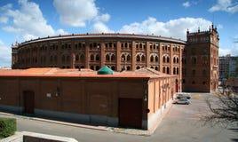 The Plaza de Toros de Las Ventas - Madrid. The Plaza de Toros de Las Ventas bullfighting ring in Madrid, Spain Royalty Free Stock Images