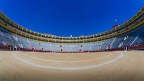 Plaza de Toros de Las Ventas - Madrid immagini stock libere da diritti