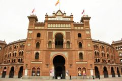 Plaza de Toros de Las Ventas in Madrid, Spain Royalty Free Stock Photo