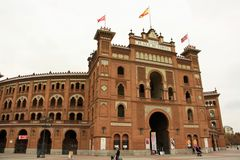 Plaza de Toros de Las Ventas in Madrid, Spain Stock Images