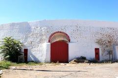 Plaza de Toros de Laujar in Andalusia, Spain stock images