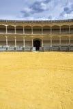 Plaza de toros de Ronda, το παλαιότερο δαχτυλίδι ταυρομαχίας στην Ισπανία Στοκ φωτογραφίες με δικαίωμα ελεύθερης χρήσης