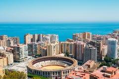Plaza De Toros De Ronda Bullring In Malaga, Spain. La Malagueta Stock Image
