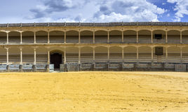 Plaza de toros de Ronda, the oldest bullfighting ring in Spain Royalty Free Stock Photo