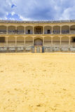 Plaza de toros de Ronda, the oldest bullfighting ring in Spain Stock Image