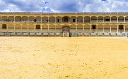 Plaza de toros de Ronda, the oldest bullfighting ring in Spain Stock Images