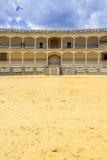 Plaza de toros de Ronda, the oldest bullfighting ring in Spain Stock Image