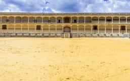 Plaza de toros de Ronda, the oldest bullfighting ring in Spain Stock Images