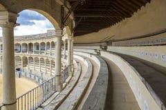Plaza de toros de Ronda, the oldest bullfighting ring in Spain Stock Photos