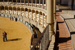 Plaza de toros de Ronda Stock Photography