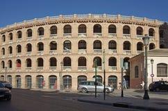 Plaza de Toros de Valencia Imagen de archivo libre de regalías