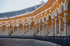 Plaza de toros EN Σεβίλλη Στοκ φωτογραφίες με δικαίωμα ελεύθερης χρήσης