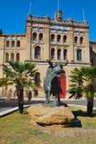 Plaza de toros en el EL Puerto de Santa María Imágenes de archivo libres de regalías