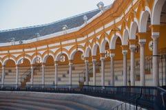 Plaza de toros en Sevilla Fotos de archivo libres de regalías