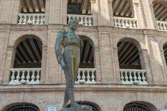 Plaza de toros en Valencia en España fotografía de archivo libre de regalías