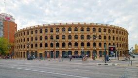 Plaza de Toros en Valencia, España fotos de archivo