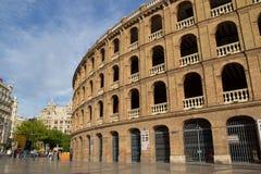 Plaza de Toros en Valencia, España Foto de archivo