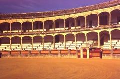 Plaza de toros española Fotos de archivo libres de regalías
