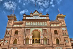 Plaza de toros in Madrid, spain Stock Images