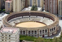 Plaza de Toros, Malaga Stock Photography