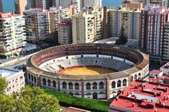 Plaza de Toros in Malaga, Spain Royalty Free Stock Image