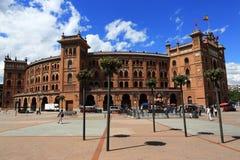 Plaza de Toros Monumental, το παλαιό κτήριο, Μαδρίτη, Ισπανία Στοκ Φωτογραφία